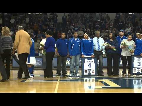 UK Hoops Senior Night 2012