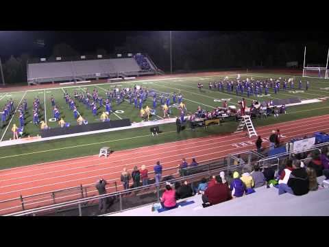 Neshaminy High School Marching Band 11 Oct 2014