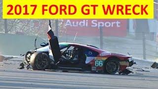 NEW Ford GT 2016 2017 Insane exotic car crash #66