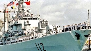 Chinese Navy Ships arrive at PEARL HARBOR looking for more stuff to Copy
