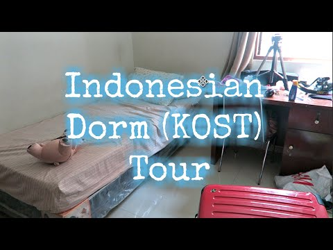 Indonesian Dorm Tour (Kost)