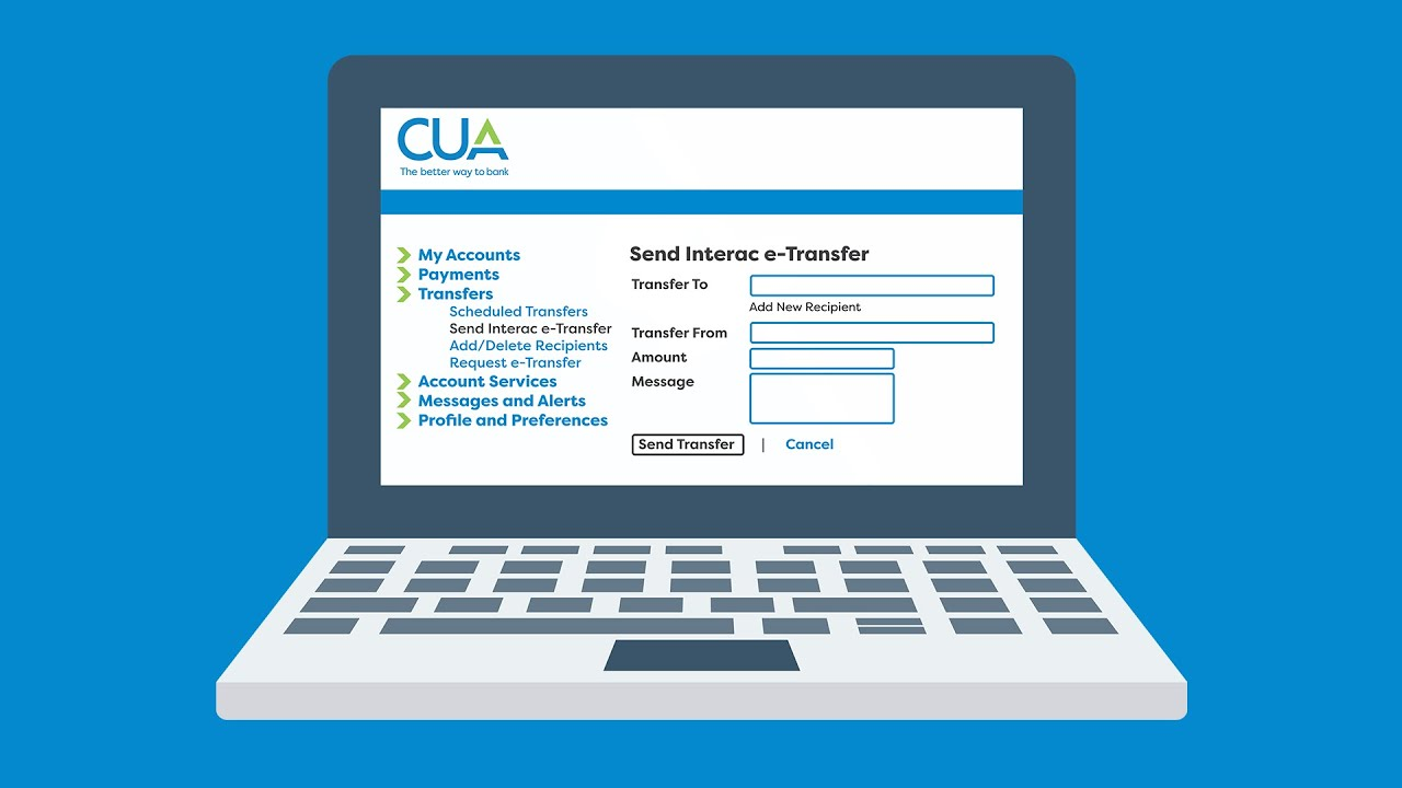 Download How to send eTransfers