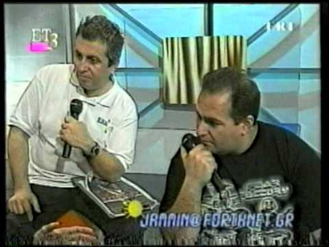 Jammin Greek TV - Steve Vai & Eric Sardinas interview & concert video April 5, 2000, Greece