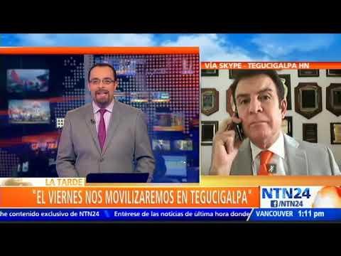 """""""Esta es una dictadura"""": Salvador Nasralla, excandidato presidencial de Honduras"""