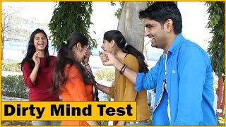 Dirty Mind Test | Girls Reactions | E - Conclave | GLA University | The HunGama Films