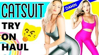 CRAZY CATSUITS TRY ON HAUL Fashion Nova