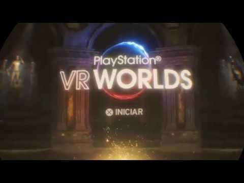 PlayStation VR Worlds - The London Heist - começando o jogo