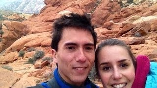 Sean McColl and Mathilde Becerra in Hueco 2014