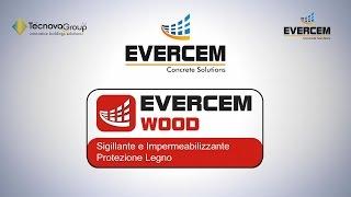 Evercem Everwood sigillante e impermeabilizzante protezione legno.