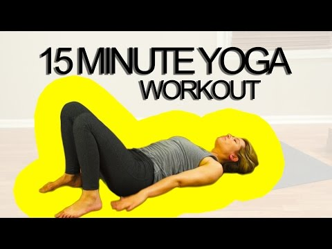 15 Minute Yoga Workout For Your Upper Body