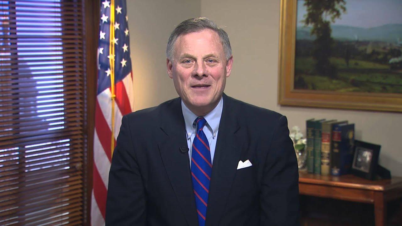 Senator Richard Burr  >> Sen Richard Burr R Nc Delivers Weekly Gop Address On Supporting