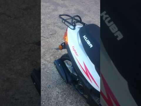 50 CC scooter motor kuba fıghter ( B sınıfı ehliyet)