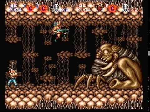 Contra III: The Alien Wars 2 player speedrun [13:48] hard difficulty