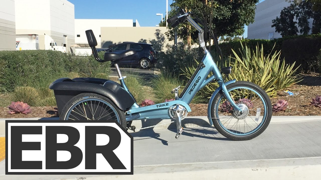 Pedego Trike Video Review - Purpose Built Electric Tricycle for Adults