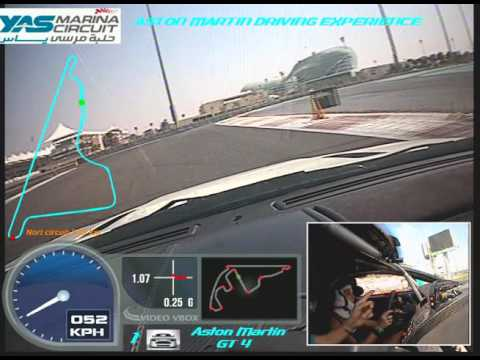 Racing in Abu Dhabi - Dashcam