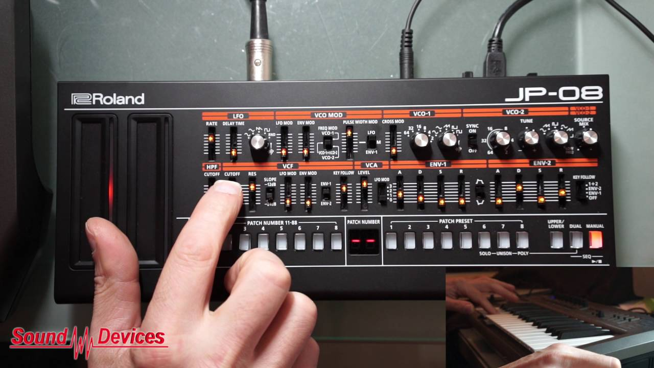 Roland Boutique | JP-08 Synth Module Demo