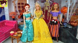 Fiesta de Halloween en Casa de Barbie - Royal High Especial Dia de las Brujas