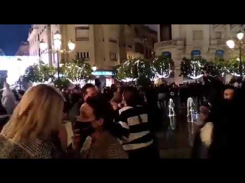 Imagen del Centro de Córdoba nada más abrirse la mano