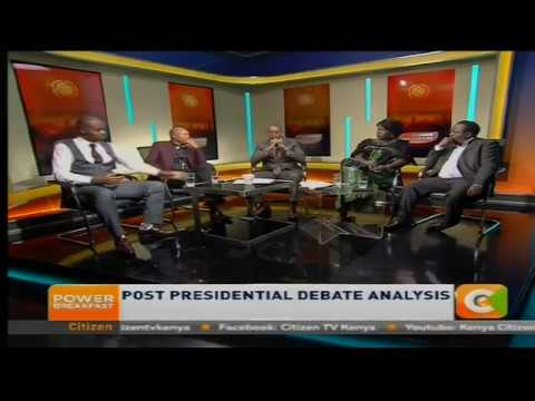 Power Breakfast News Review :   Post Presidential Debate Analysis