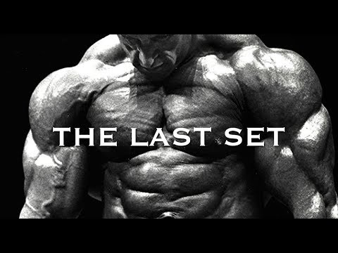 WORKOUT MOTIVATION – THE LAST SET (DORIAN YATES)