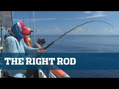 The Right Long Range Rod - Florida Sport Fishing TV Rigging Station