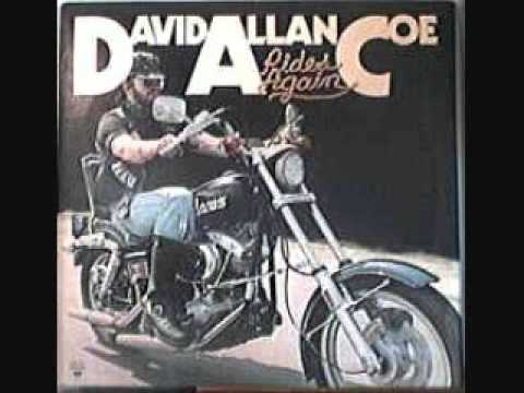 David Allan Coe laid back and wasted