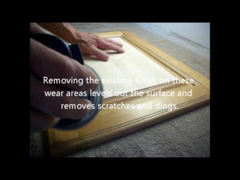 Kitchen Cabinet Refinishing - Cabinet Door Sanding - Jacksonville, Fl.