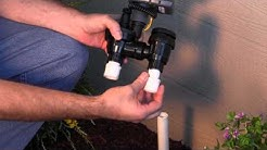 DIG ECO1 ASV Solar Powered Timer with Anti-Siphon Valve: Installation