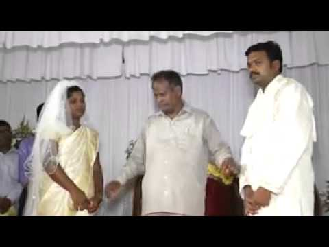 Deaf and Mute couples marriage conducted by a Deaf and Mute pastor.