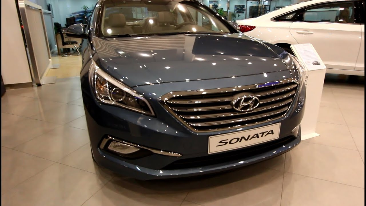 ‫هيونداي سوناتا 2015 Hyundai Sonata 2015‬ Youtube