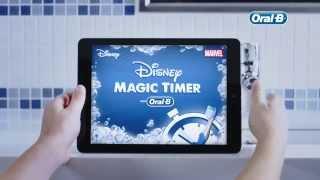 Mehr Spaß beim Putzen: Die Disney Magic Timer App von Oral-B