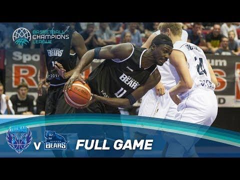 LIVE 🔴 - Donar Groningen (NED) vs Bakken Bears (DEN) - Basketball Champions League 17-18