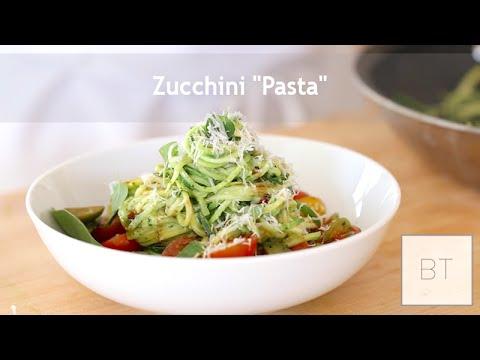 """zucchini-""""pasta"""""""