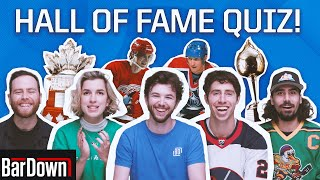 CAN YOU PASS THIS HOCKEY HALL OF FAME QUIZ?