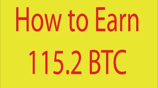 How to earn 115.2 BTC with low 0.0005 Btc invest