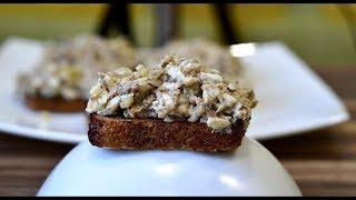Суперская намазка на хлеб рецепт которой у вас будут спрашивать все гости