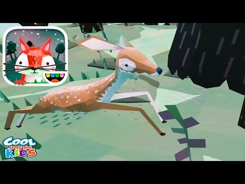 Make Your Own Jungle | Toca Nature - Educational App For Kids | Toca Boca Gameplay Video for kids