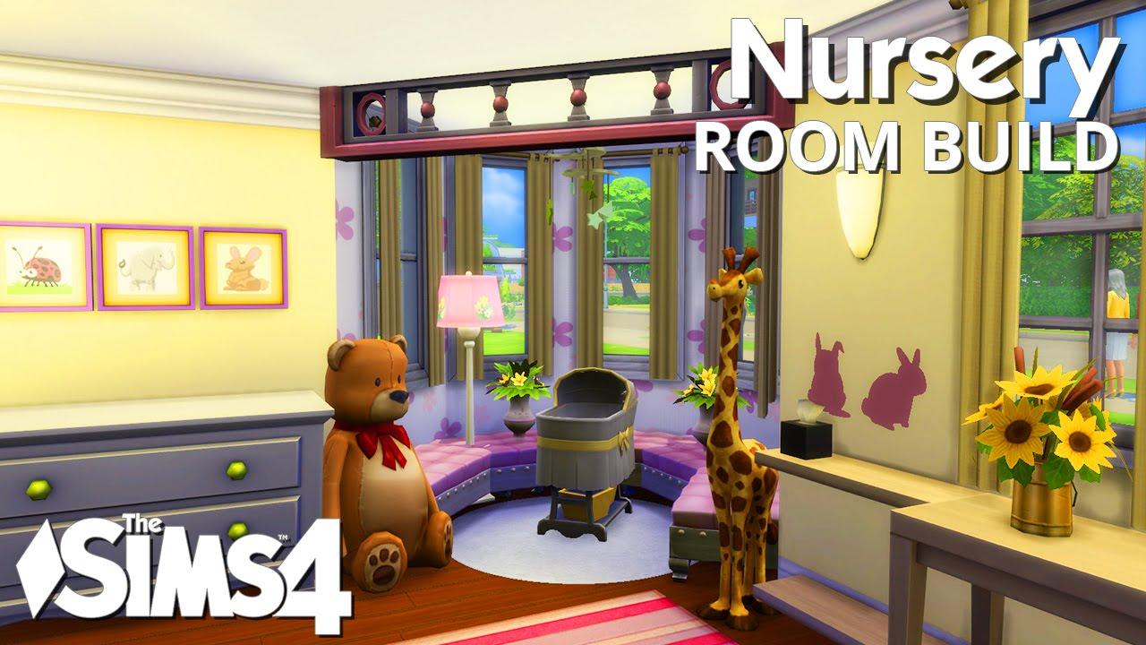 The Sims 4 Room Build - Nursery - YouTube