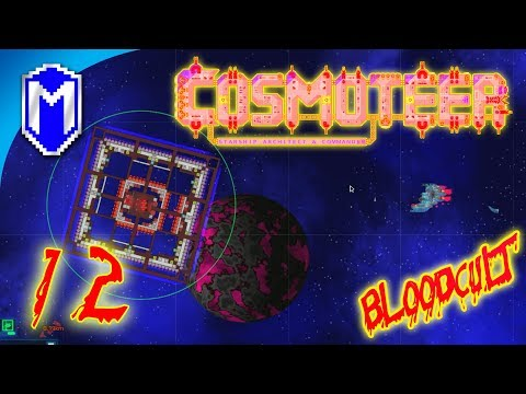 Cosmoteer - I Hate These Ship Designs - Let's Play Cosmoteer BloodCult Mod Primal Age Gameplay Ep 12