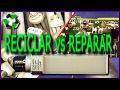 RECICLAR vs REPARAR lámpara LED