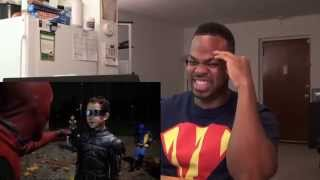 How Deadpool Spent Halloween REACTION!!!