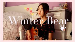 Winter Bear - V (뷔) Acoustic Cover with Lyrics
