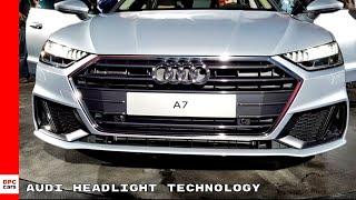 Audi Headlight Technology 2019
