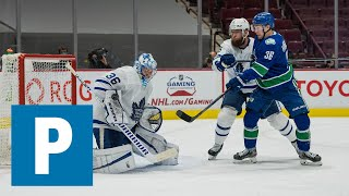 Nils Höglander on Canucks 3-2 (OT) win over Maple Leafs | The Province