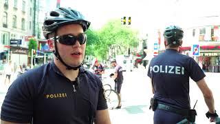 Fahrrad-Schwerpunktkontrolle der Wiener Radpolizei