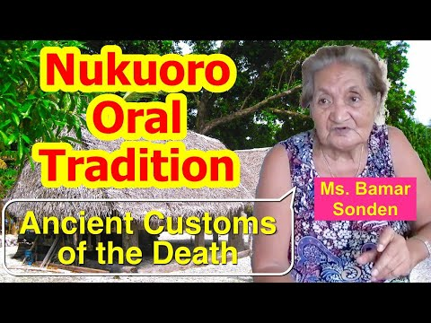 """Account of an Ancient Custom named """"Hokaholau"""", Nukuoro"""