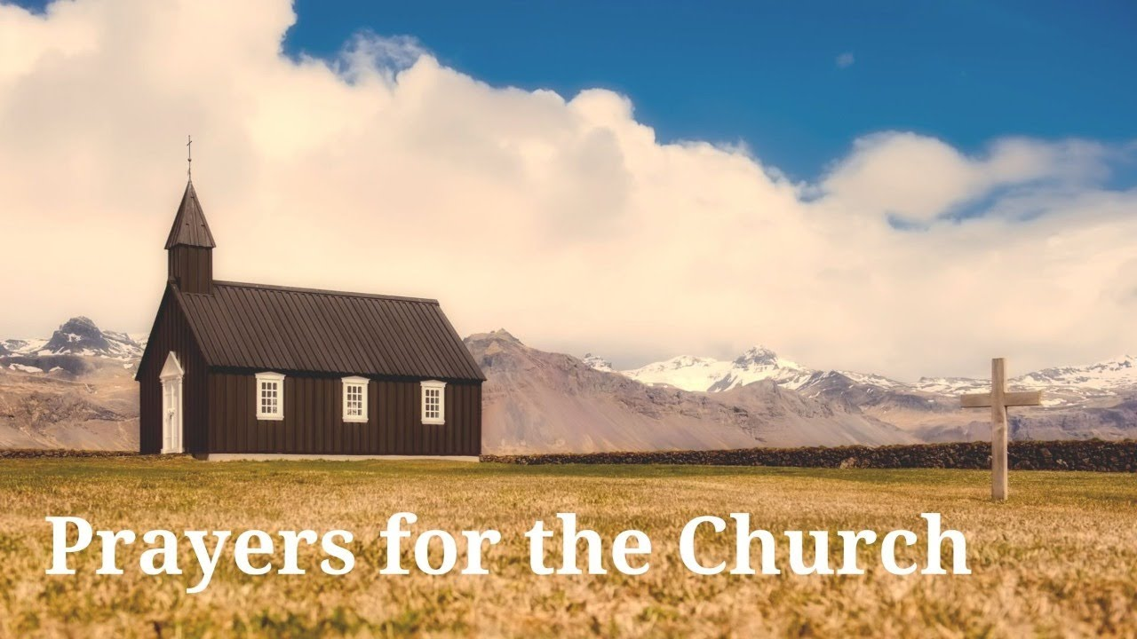 Payers for the Church: Immerse Yourselves in Christ's Love