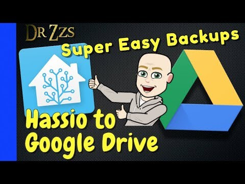 Never Lose Your Home Assistant Config Again! | Smart Home | Data Backup | Google Drive
