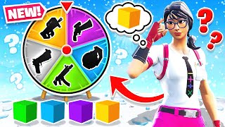SPIN THE WHEEL Random BLOCK Game Mode in Fortnite Battle Royale