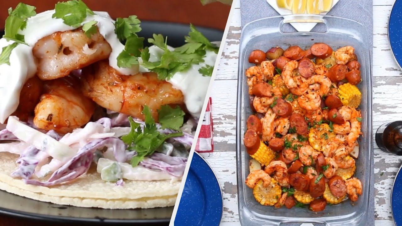 Shrimp Recipes For True Seafood Lovers • Tasty